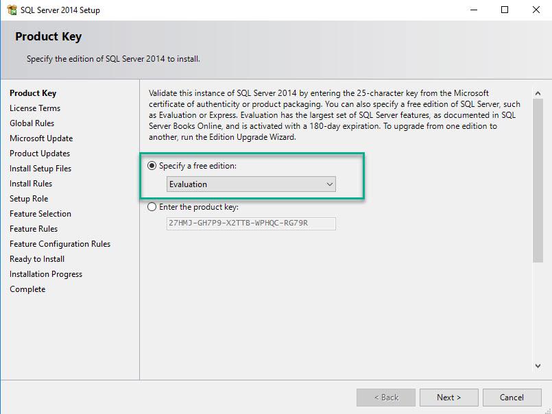Install SQL for SCCM - 2