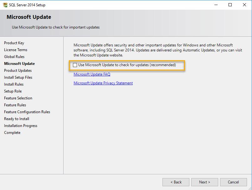 Install SQL for SCCM - 4