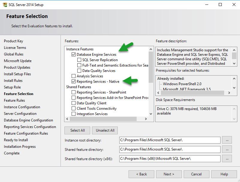 Install SQL for SCCM - 6