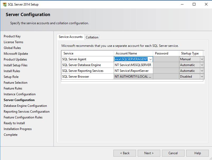 Install SQL for SCCM - 7