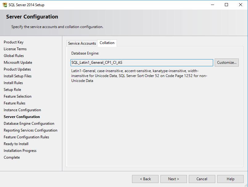 Install SQL for SCCM - 8