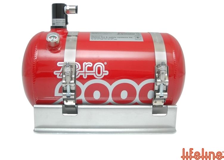 MSA Zero 2000 electric fire extinguisher