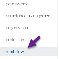 Restrict sending mail to specified domain recepinets - 1