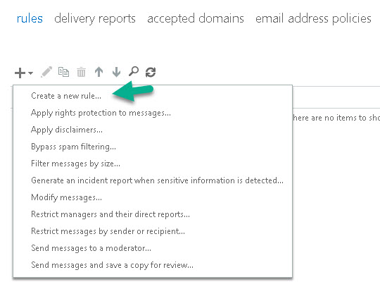 Restrict sending mail to specified domain recepinets -2