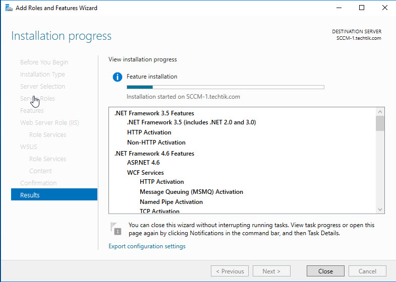SCCM Prerequisites - Softwares 3 - 4