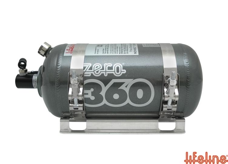 Zero 360 electric fire extinguisher