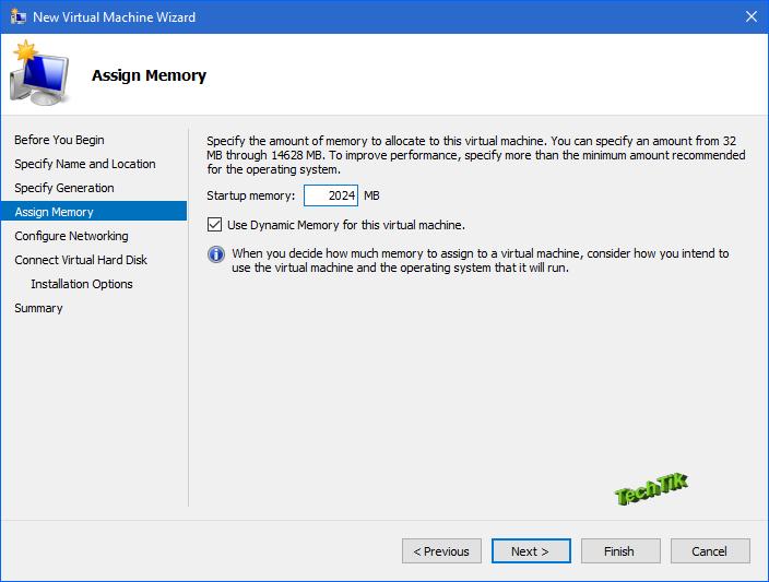 create virtual machine on hyper-v