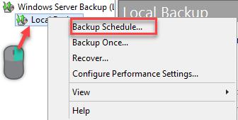 Backup Hyper-v