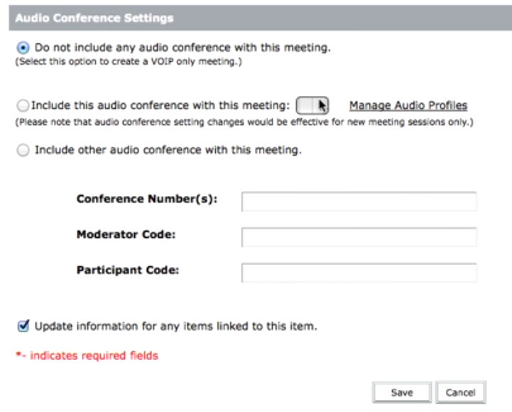 Adobe Connect Sound Configurations 1