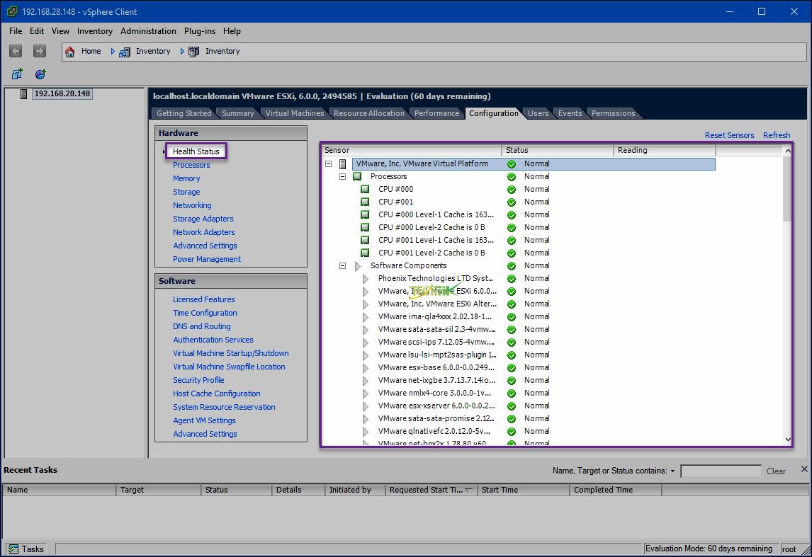 Configure vSphere
