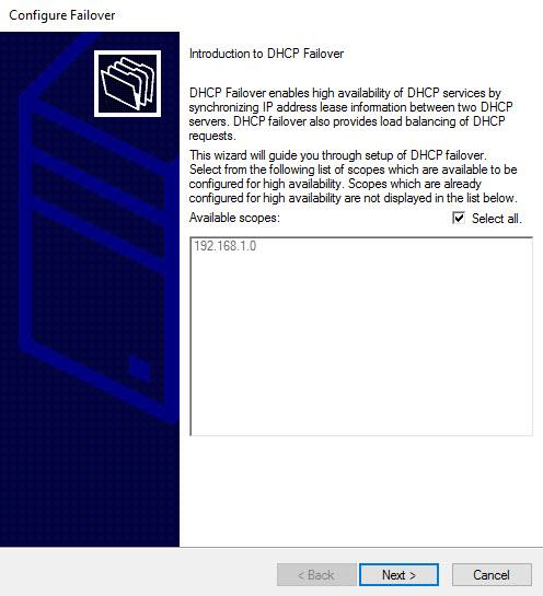 DHCP Failover - 1