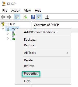 Managing DHCP Database 1