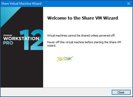 Share VMs