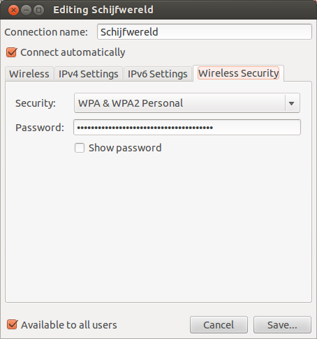 WiFi Passwords in Ubuntu