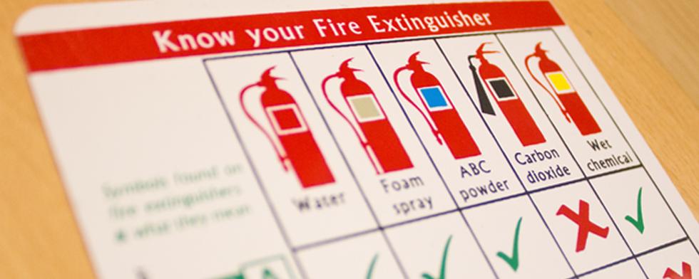 تصویر از خاموش کننده آتش الکتریکی یا Electric Fire Extinguisher