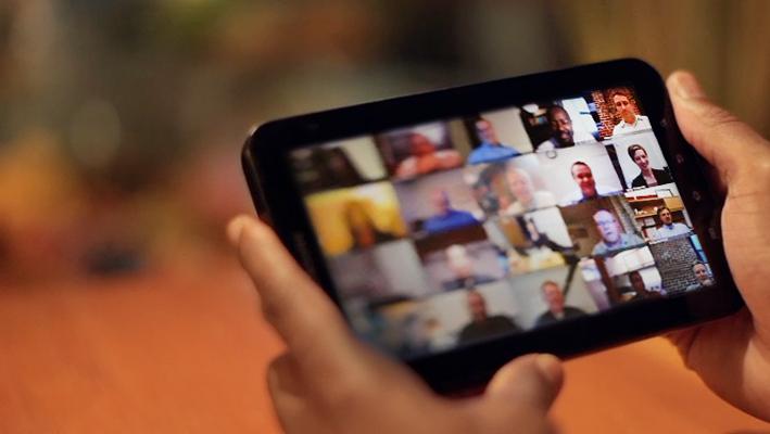 تصویر از ایجاد Template در Adobe Connect Meeting