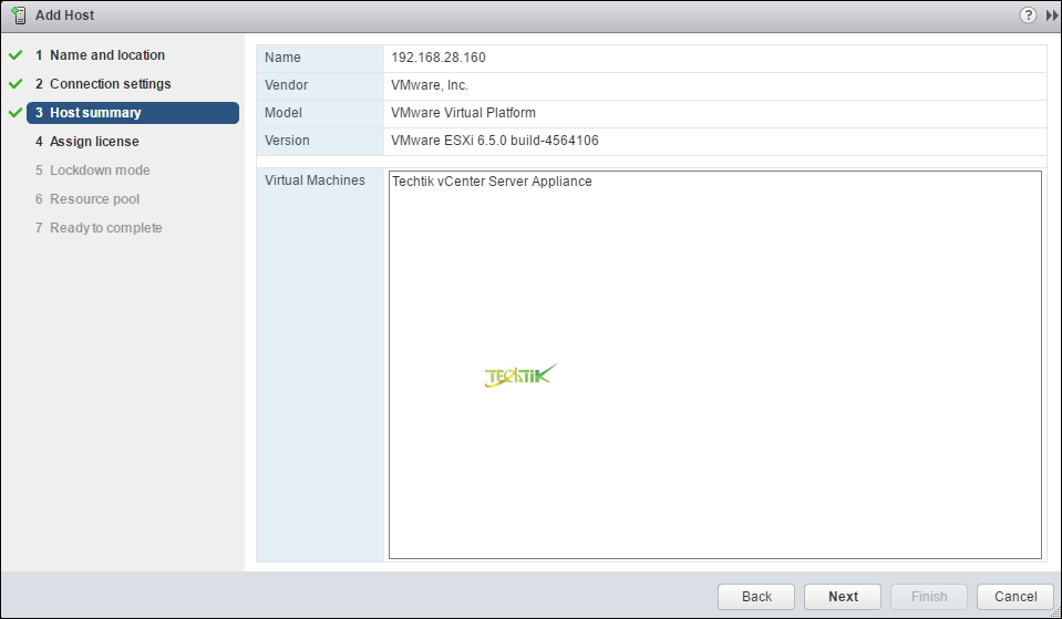 Add ESXI To Vcenter