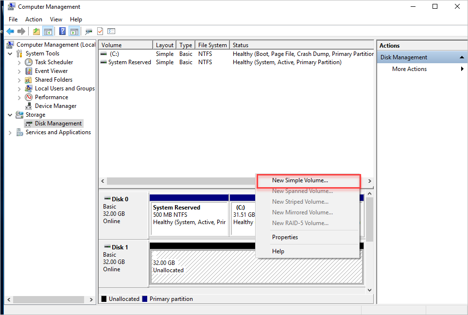 Hot-Add and Hot-Remove VHD