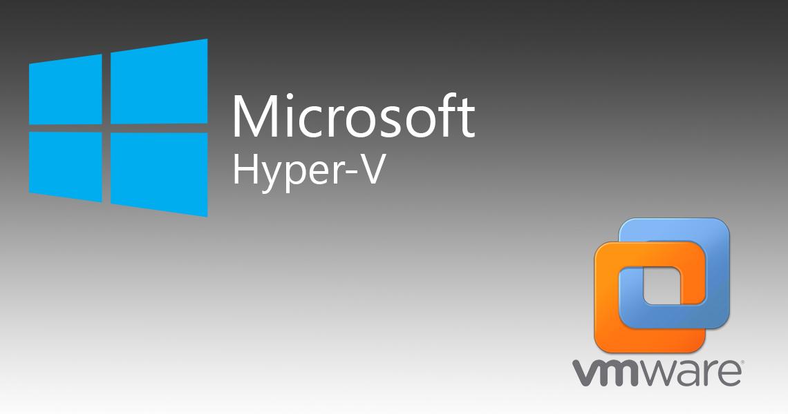 تصویر از نصب Hyper-V بر روی VMware Workstation