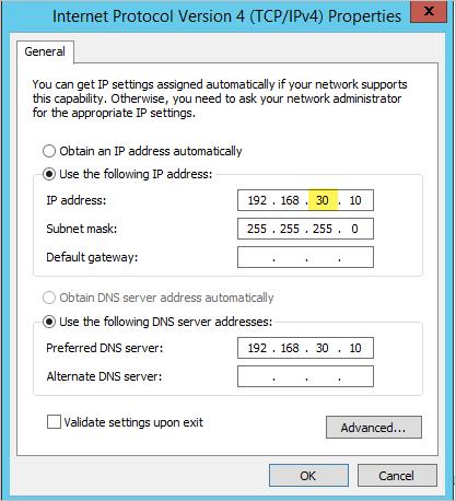 Binding DHCP