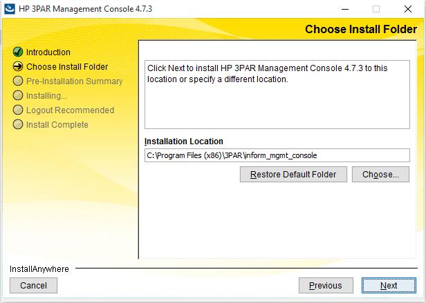Inform Managemenet Console 2