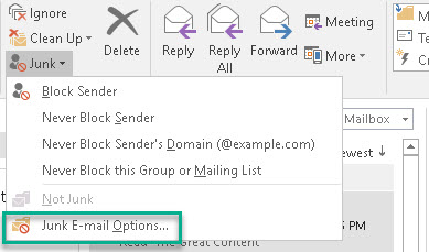 ۱۱ - Why does an email go to the junk box 2