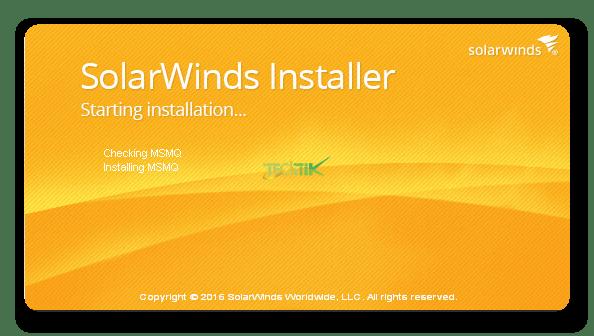 Install Solarwinds