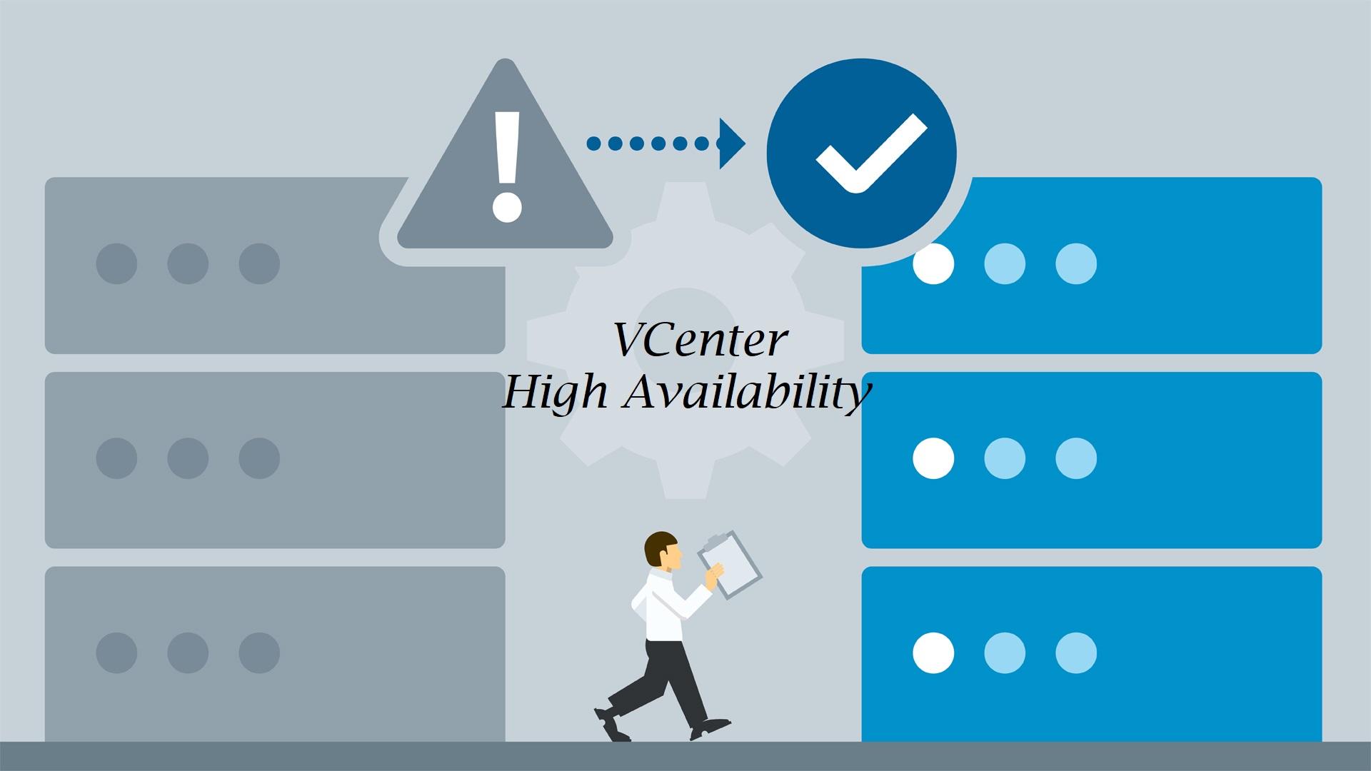 تصویر از پیاده سازی VCenter High Availability
