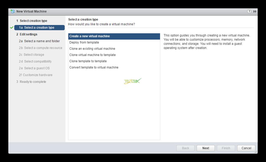 Create Virtual Machine on VCenter