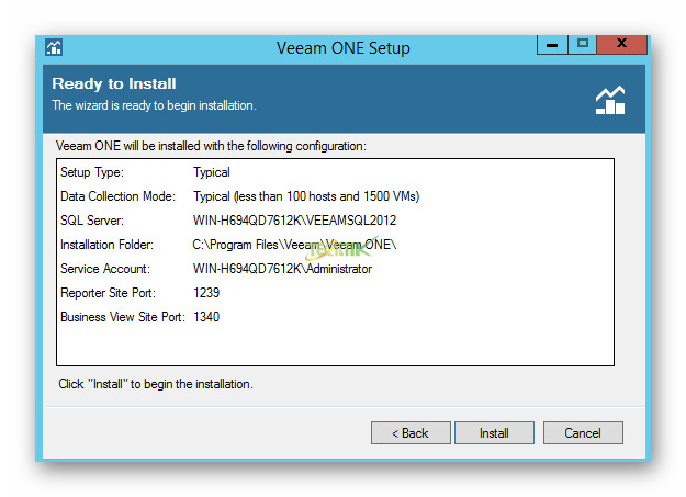 Install Veeam ONE