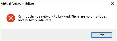 No un-bridged