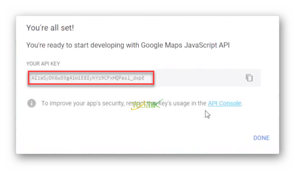 Integrating google maps with OpManager