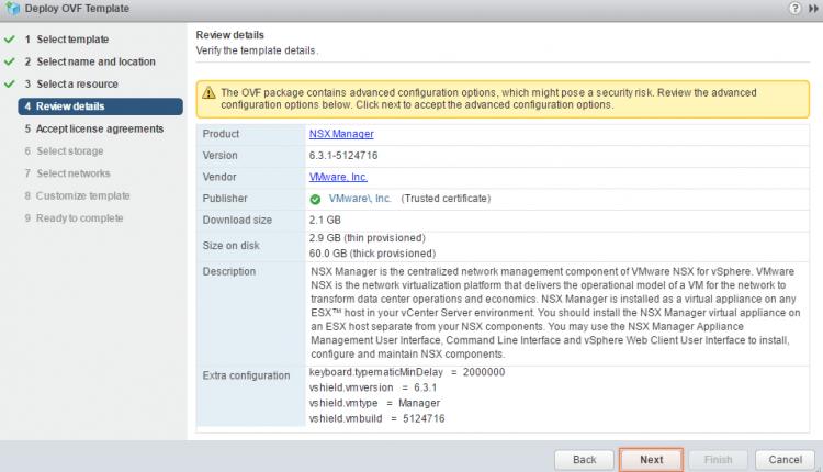 Install NSX 0 4