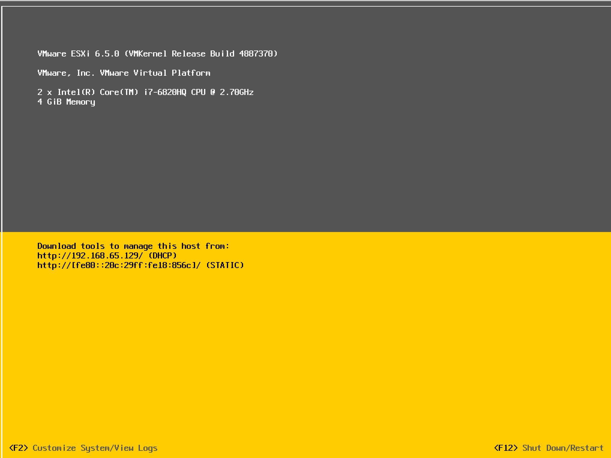 تصویر از نحوه آپدیت ESXI 6به ESXI 6.5