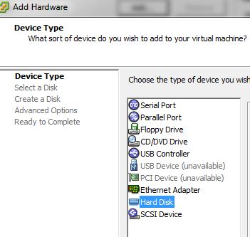 view-virtual-machine-hardware