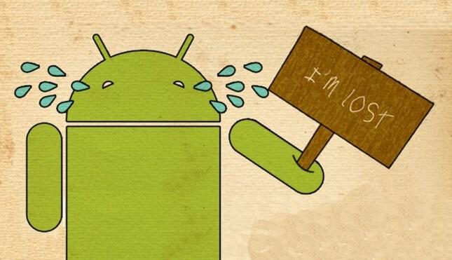 تصویر از یافتن گوشی های اندرویدی با استفاده از اکانت Google