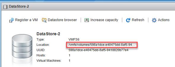 بازیابی دیسکریپتور VMDK