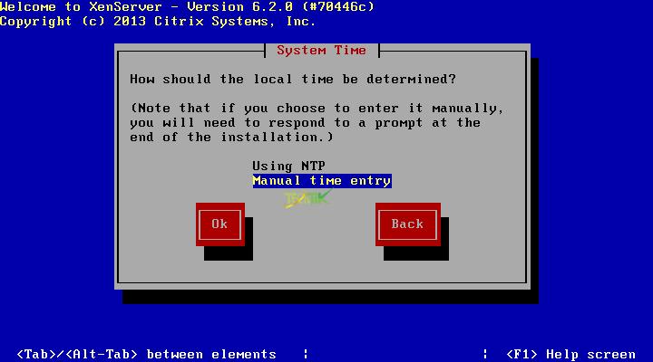 install XenServer