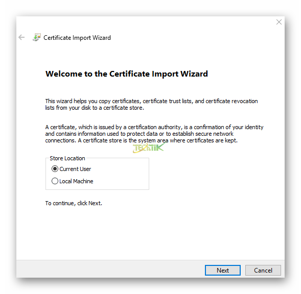 Certificate vCenter