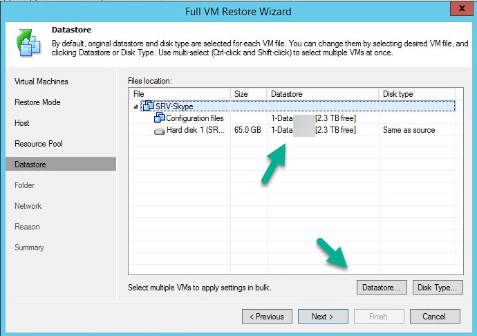 انتقال ماشین مجازی بین ESXi با استفاده از Veeam