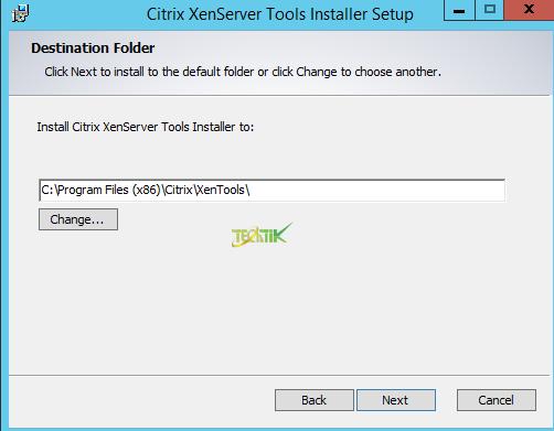 install XenServer Tools