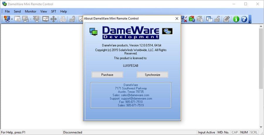 تصویر از آموزش ویدیویی Dameware Mini Remote Control