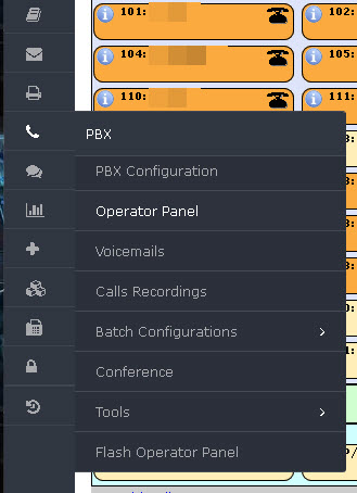 پنل منشی یا Operator Panel در الستیکس و ایزابل
