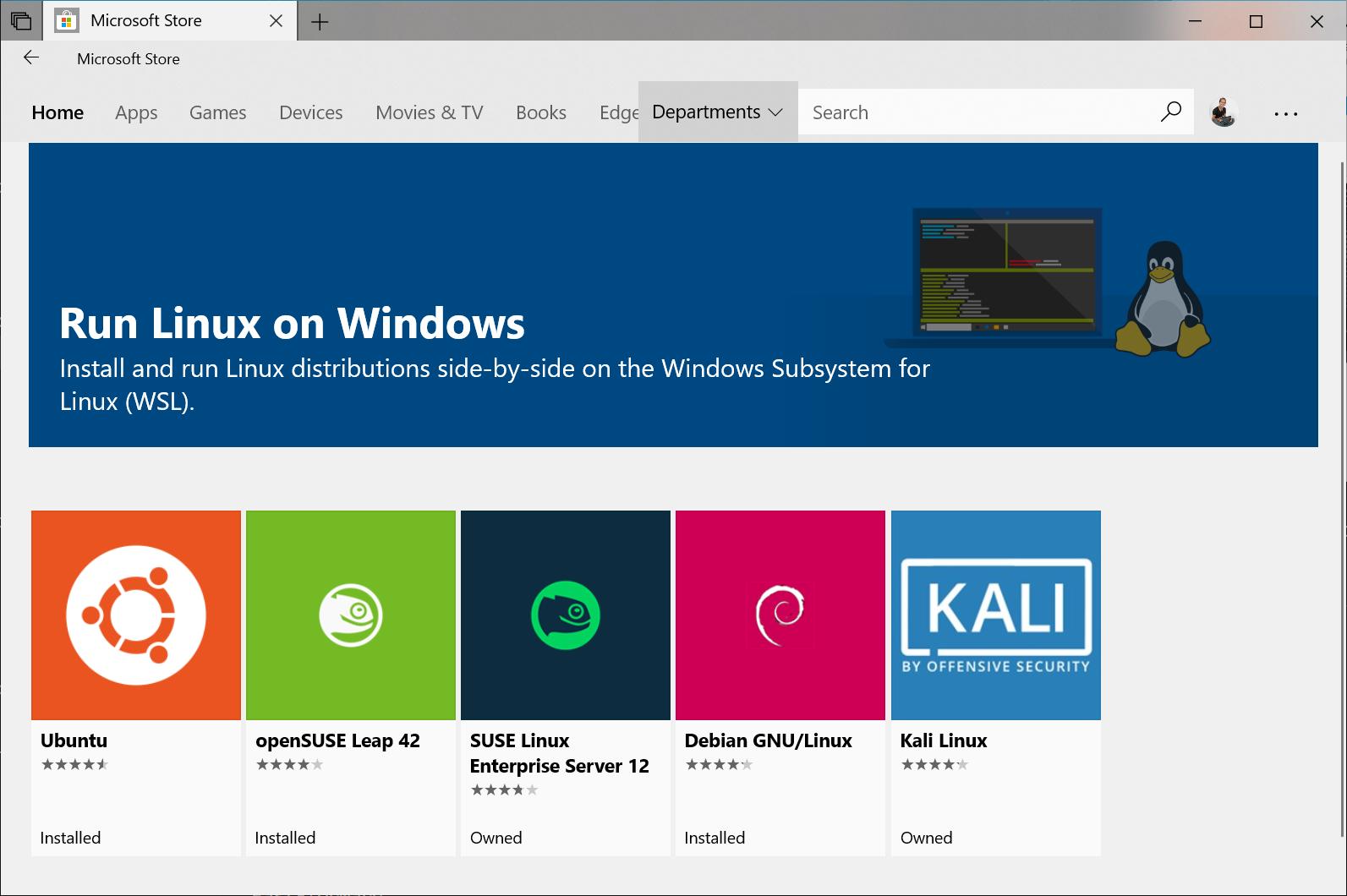 استفاده از لینوکس در ویندوز