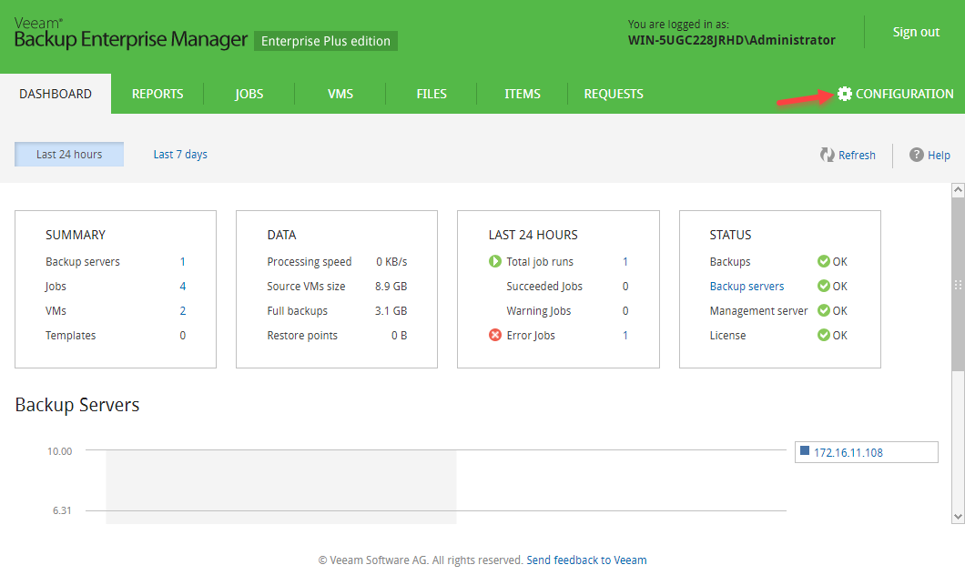 Photo of آموزش Veeam Backup Enterprise Manager