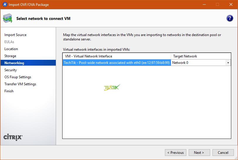 Export & Import VM XenServer