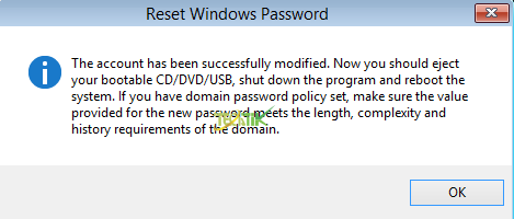 Passcape Windows Password Recovery