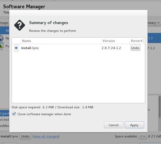 نصب نرم افزار در openSUSE
