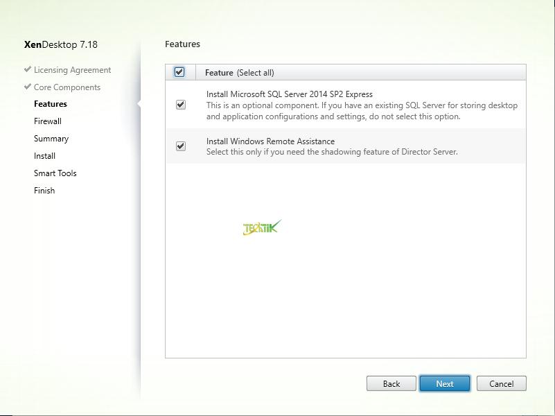 Install XenDesktop