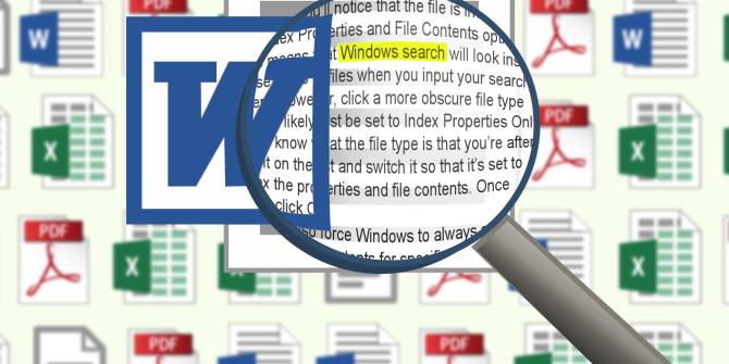 تصویر از نحوه جستجو محتوای فایل ها  در ویندوز سرور
